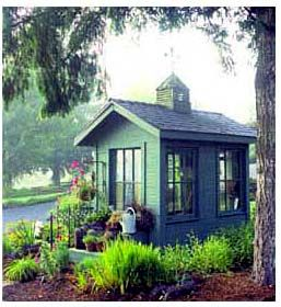 Another cute garden shed