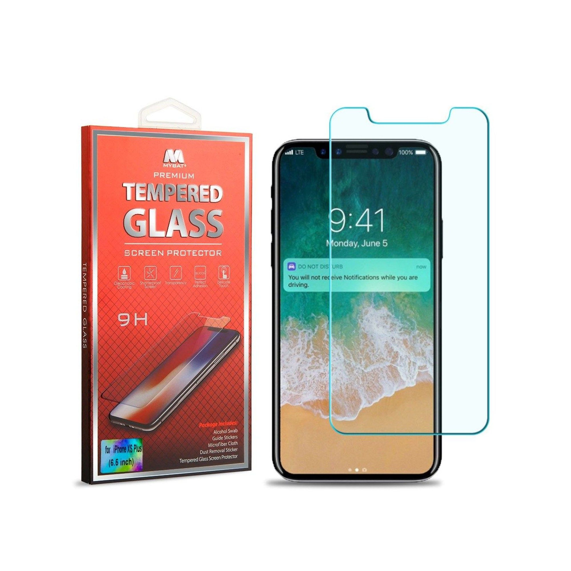 For Apple Iphone Xs Max Screen Protector By Insten Clear Tempered