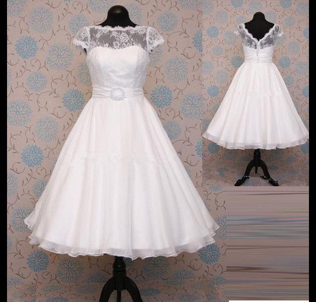 Brautkleider - Brautkleid Hochzeit im Stil der 50er - ein ...