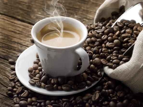 Hangover cures from Men's Health, #6. Coffee