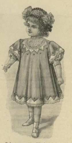 MODE ILLUSTREE PATTERN March 29,1908-CHILD DRESS