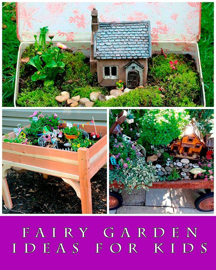 Fairy Garden Ideas For Kids - Some super cute fairy garden ideas to ...