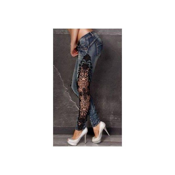 0127d9c942 Lace Panelled Faux Leather Leggings With Studs - Black Lace Up Faux ...