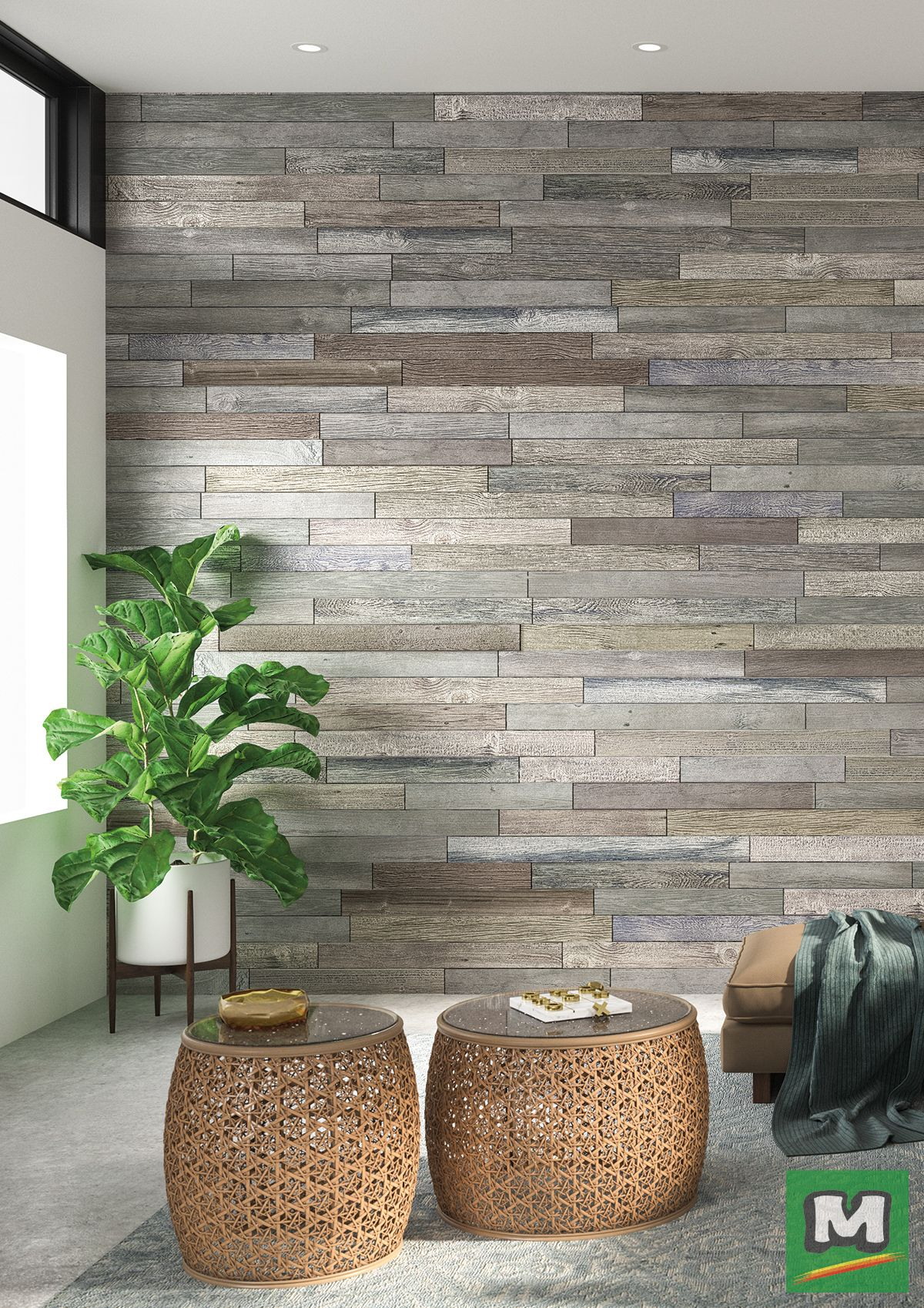 Create A Rustic Accent Wall In Your Home With Emerge Surfacescapes