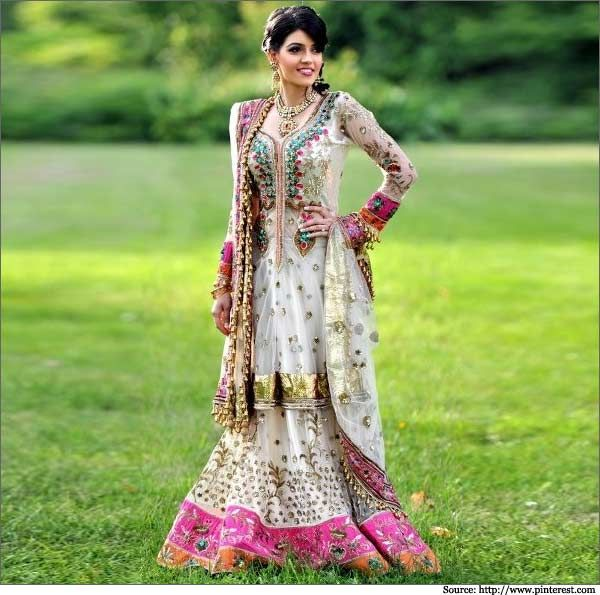 Beautiful Indian Brides With Bridal Wear Outfits