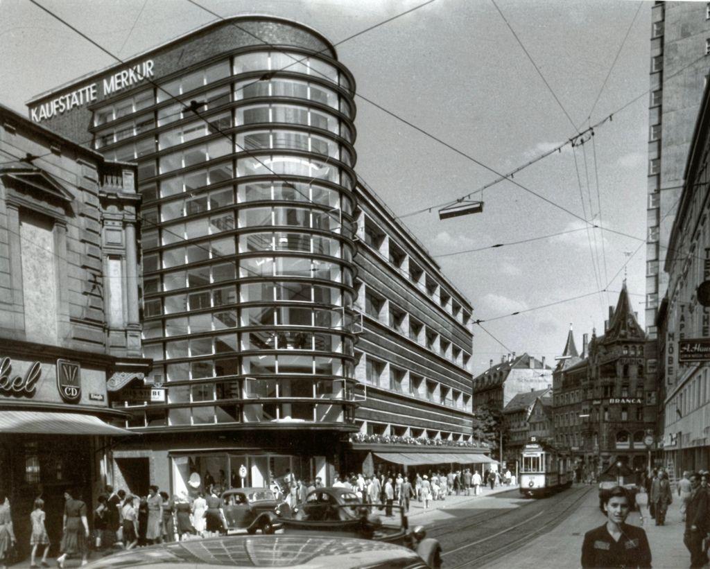 Architects Stuttgart kaufhaus schocken stuttgart architects erich mendelsohn