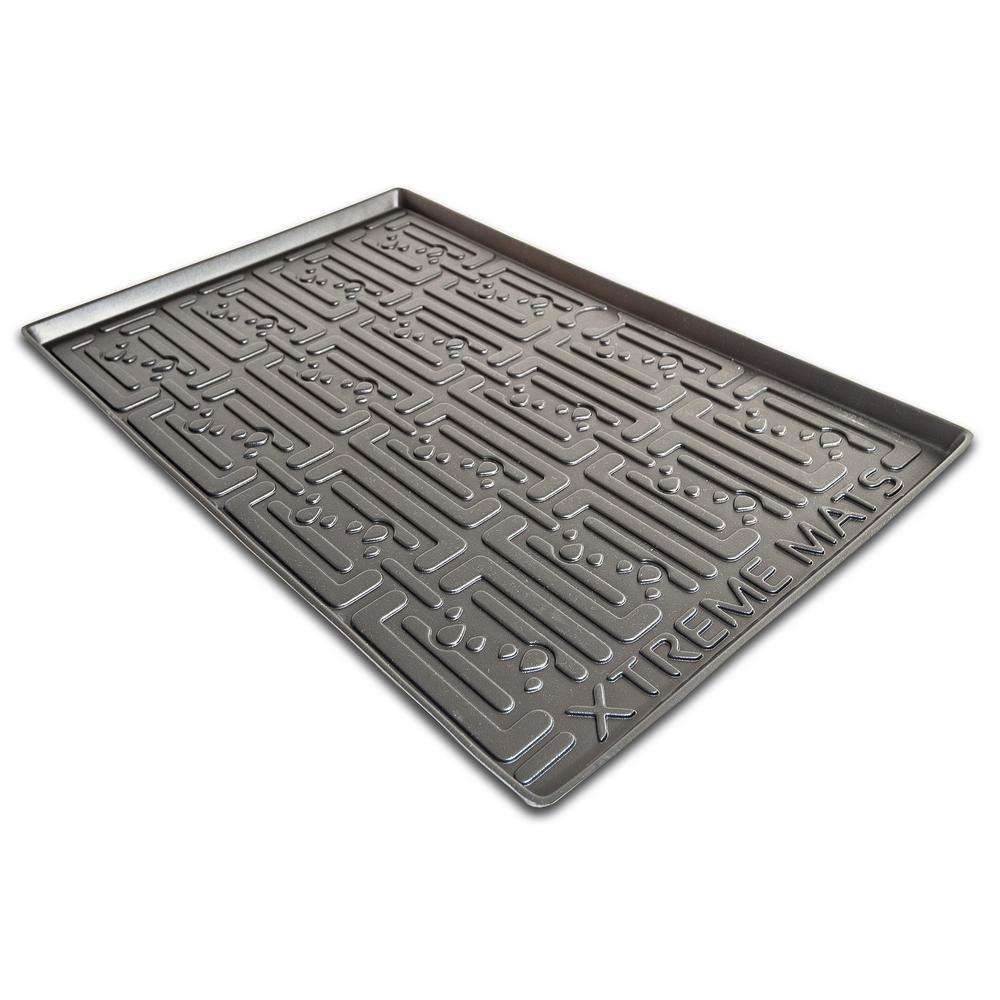 Black Kitchen Depth Under Sink Cabinet Mat Drip Tray Shelf Liner (30 3/