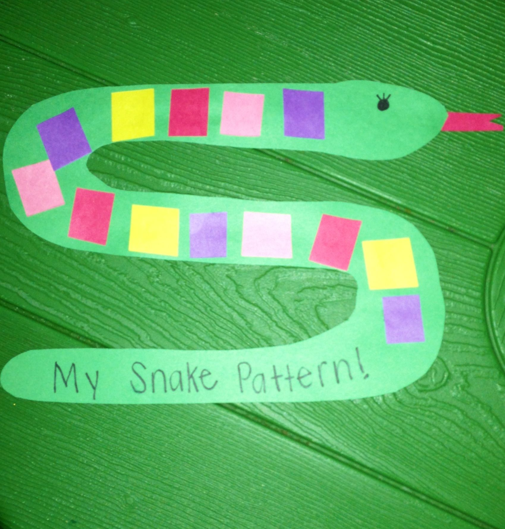 This is a great way to teach patterns. The students took different ...