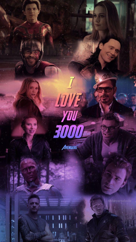 Avengers #avengers #avengersendgame #iloveyou3000 #marvel #lockscreen  Marvel Universe