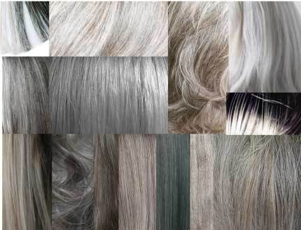 Grey Hair And Seasonal Colors Of Gray Going Looking Great How Many Shades Are There