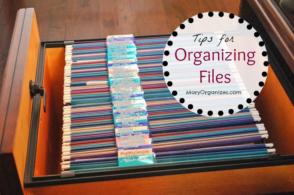 Organize Home Office Files Paper Management Organization