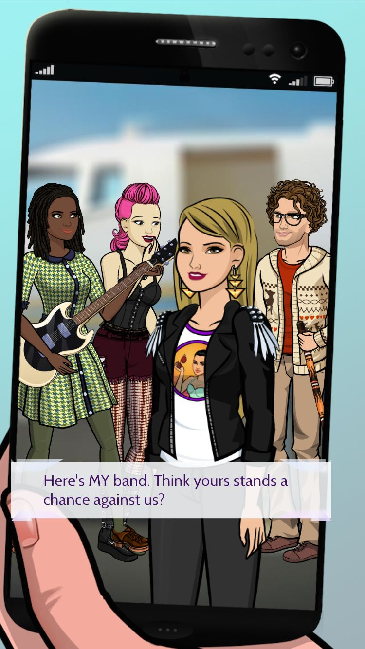 Check out my killer band on Demi: Path To Fame! #demipathtofame http://bit.ly/EpisodeHere