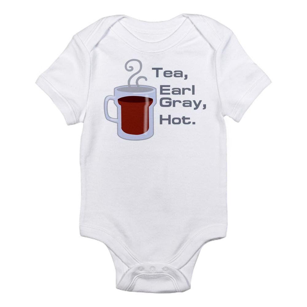 7240648ca Amazon.com: CafePress Star Trek Infant Bodysuit. I'm a Pichard fan ...