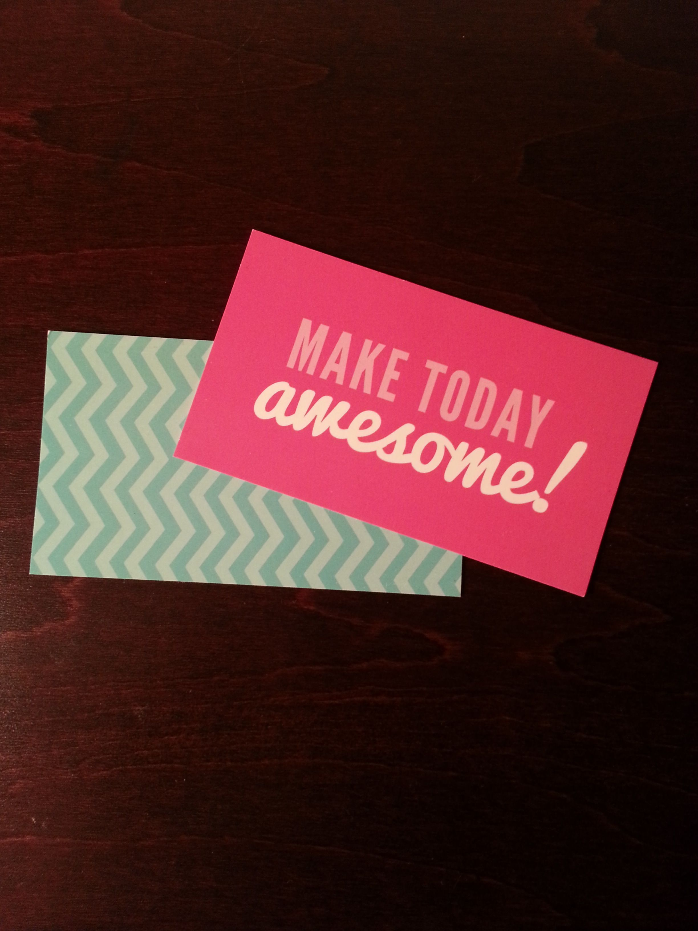 A business card I got from Origami Owl. I want to put it on my ...