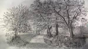Ağaç çizimi Karakalem Ile Ilgili Görsel Sonucu Ağaç Ve Yol 2019