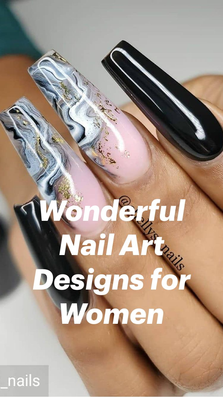 Wonderful Nail Art Designs for Women