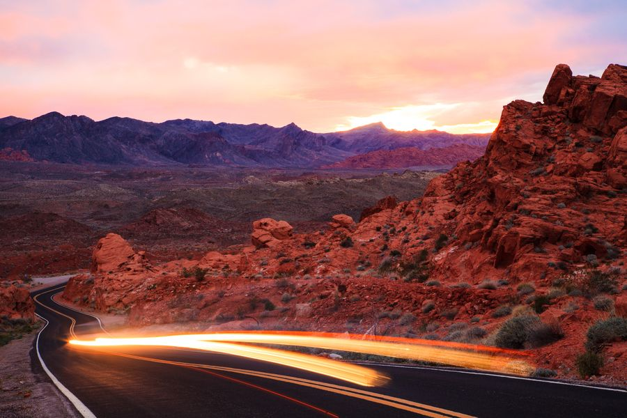 Photon Racing  Valley Of Fire State Park  Overton, Nevada