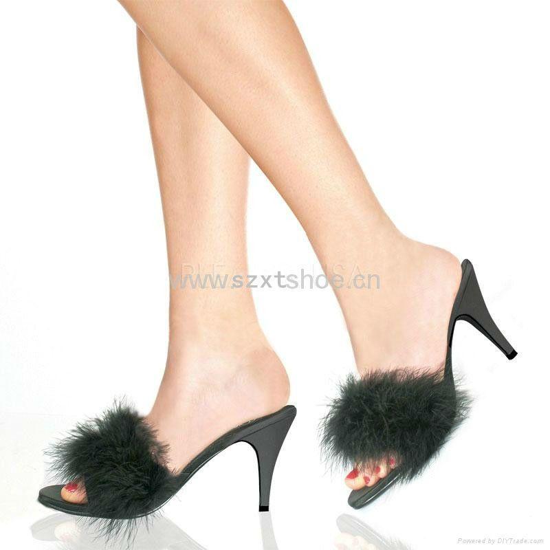 Delightful Bedroom Slippers With Heels
