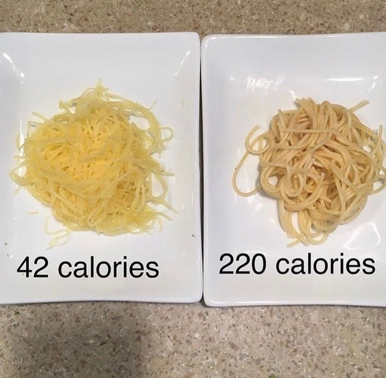 Calories In Spaghetti Squash Vs Regular Pasta Nutrition Recipes Calorie 310 Nutrition Recipes