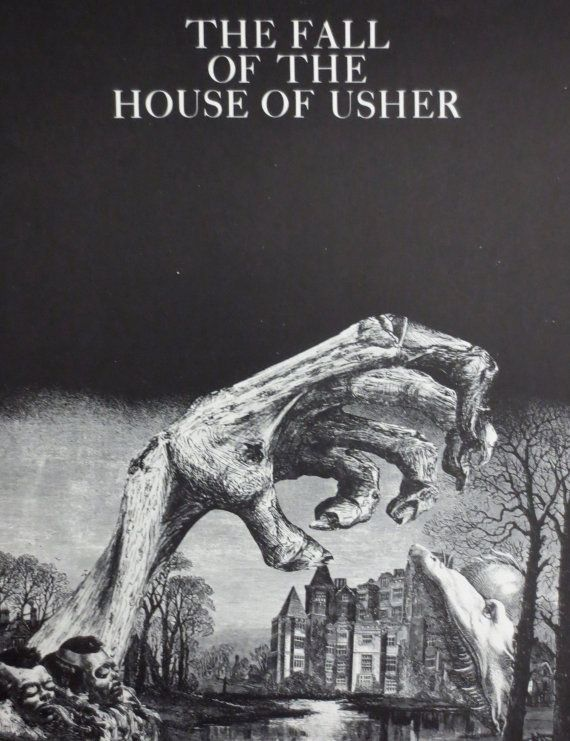 Edgar Allan Poe The Fall Of The House Of Usher Vintage