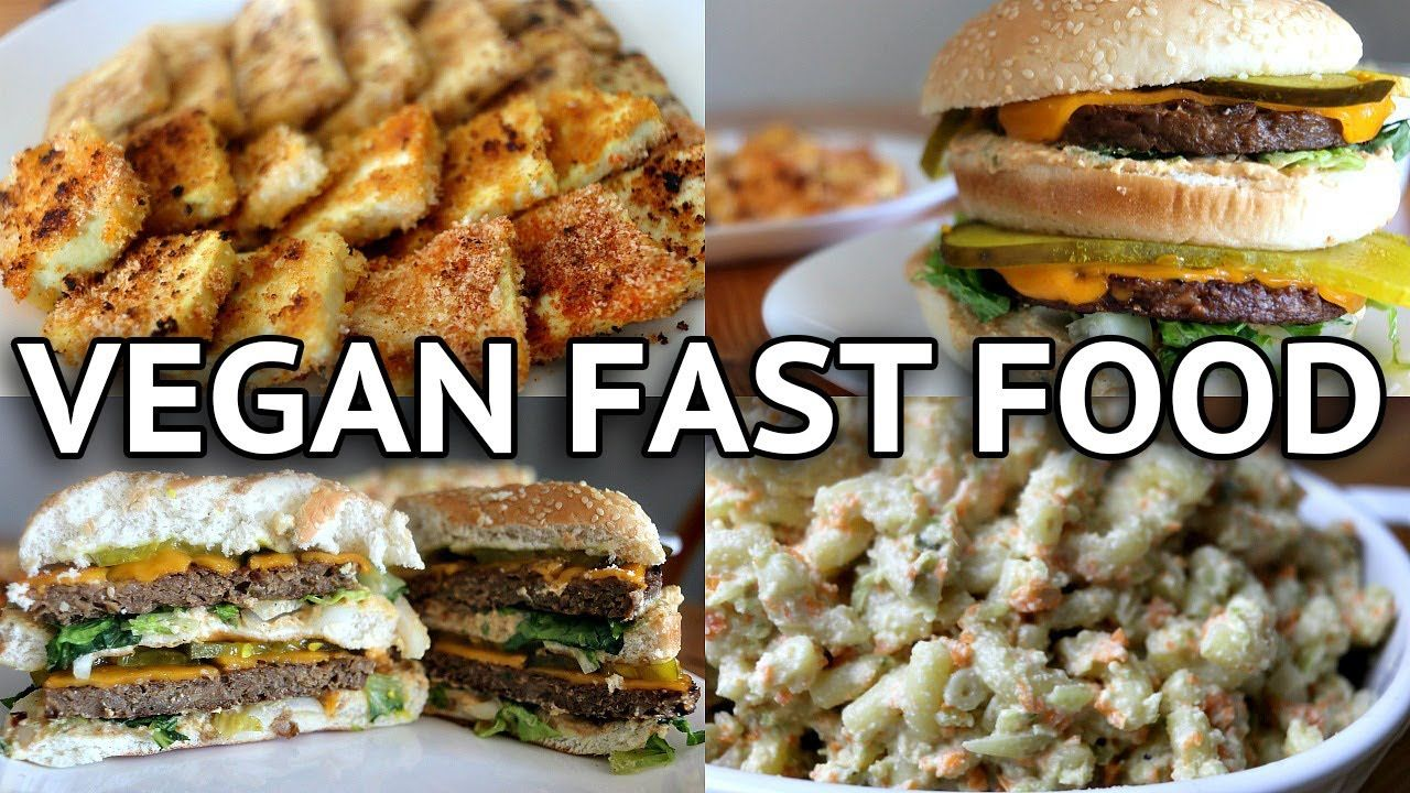 Easy Vegan Fast Food Recipes Vegan Big Mac Https Www Youtube Com Watch V Pddwgvpbbxg Whole Food Recipes Vegan Fast Food Cheap Fast Food