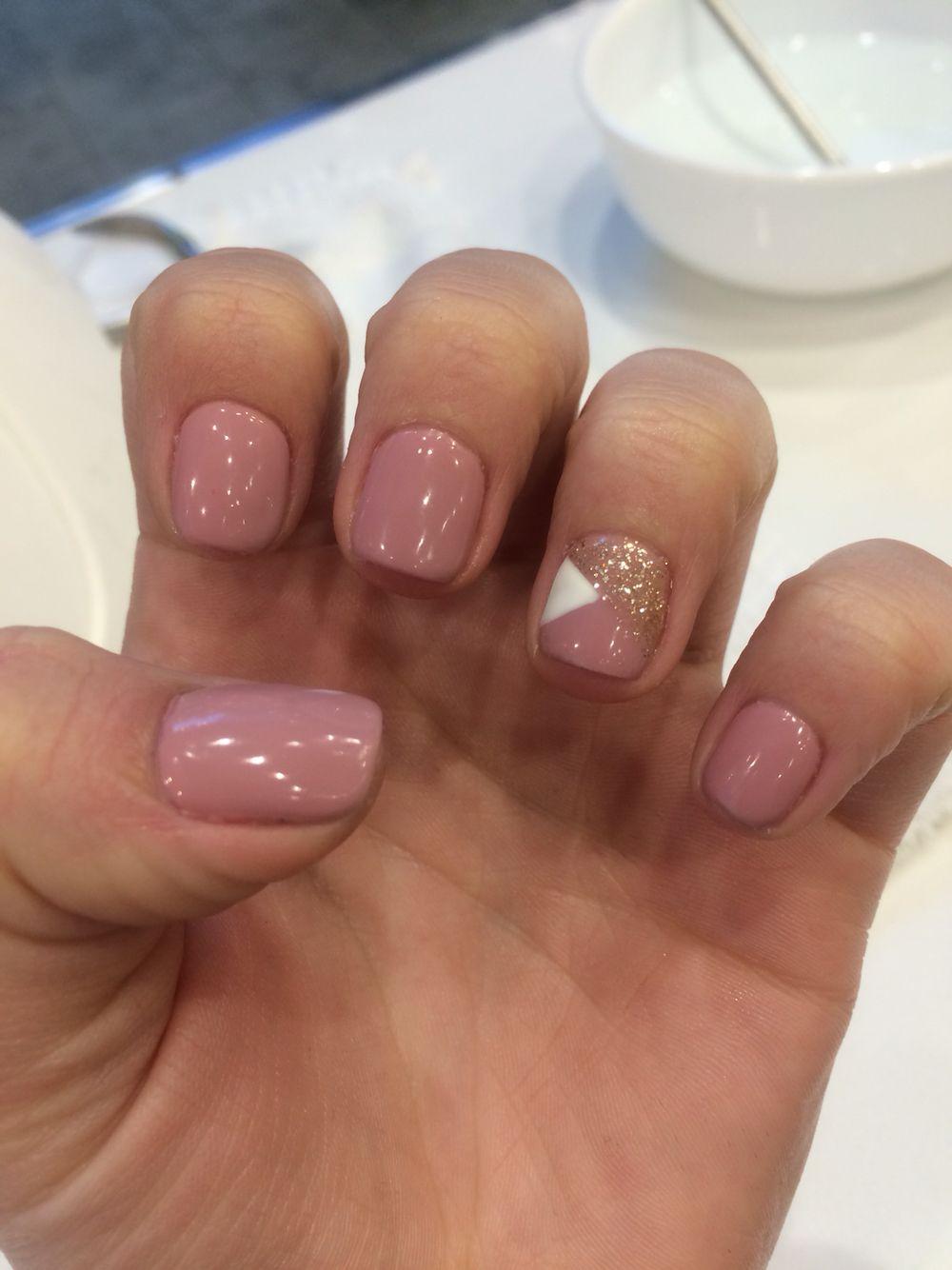 Gel#nails#short# simple # cute | Cute gel nails, Simple ...