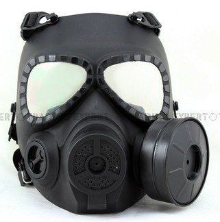 Resin Full Face Cs Airsoft Paintball Dummy Gas Mask For Cosplay Protection Halloween Evil Antivirus Skull Festival Decor Excellent In Quality