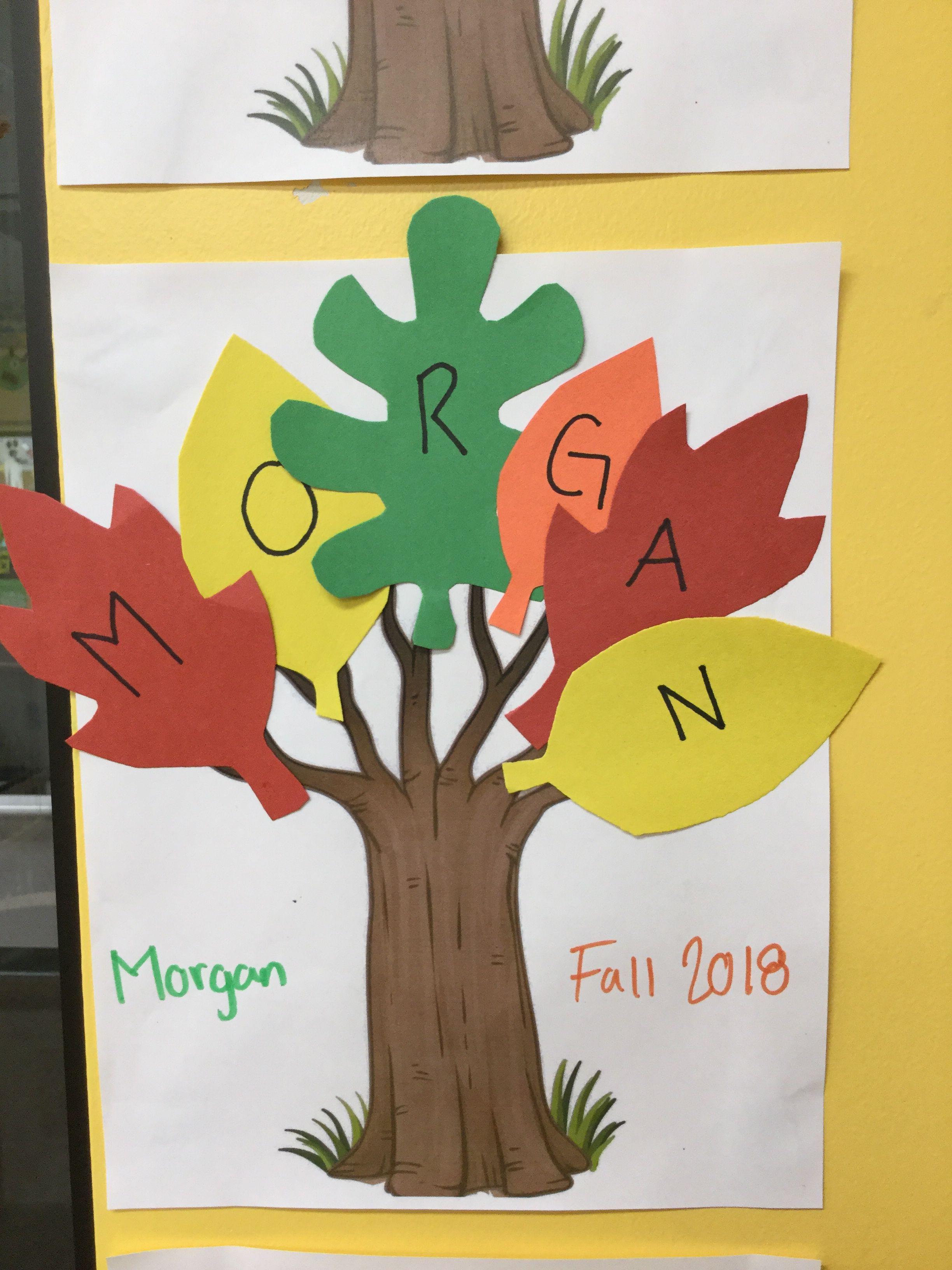 Fall Name Tree