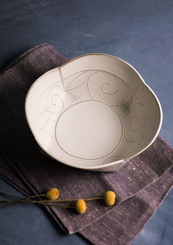 handmade ceramic bowl Ceramicby FreeFolding studio on #etsy . #freefolding #ceramics