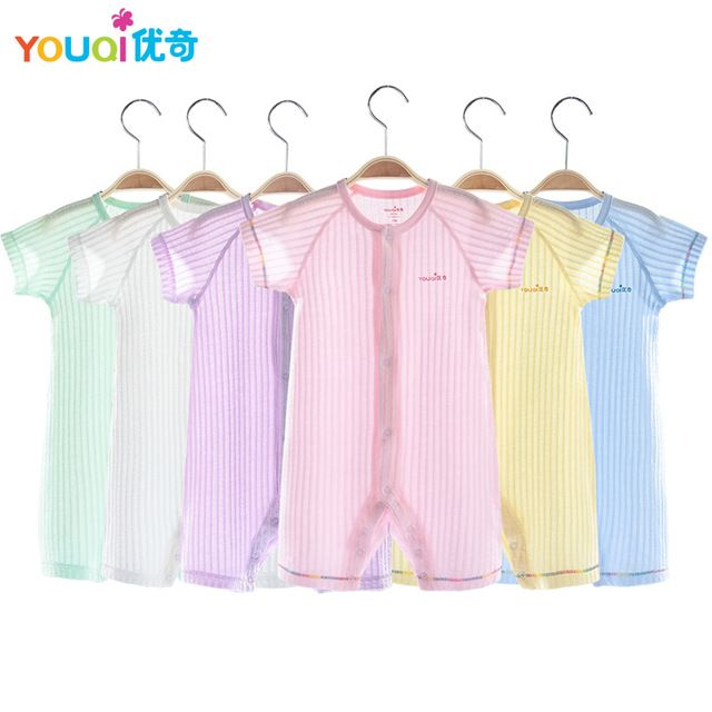 026b991858ad Fair price YOUQI Summer Baby Rompers 100% Cotton Brand Baby Costumes ...