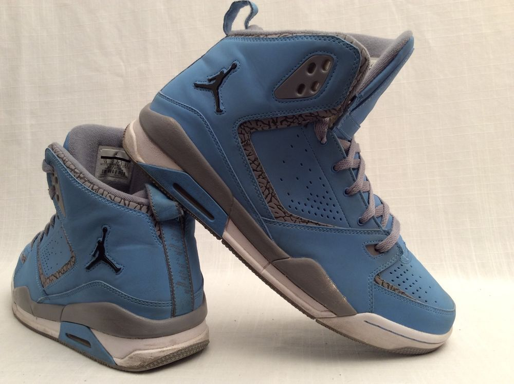 e99e35ca1da USED Nike Air JORDAN SC2 UNIVERSITY BLUE STEALTH 454050 401 Mens Size 13 # Nike #BasketballShoes