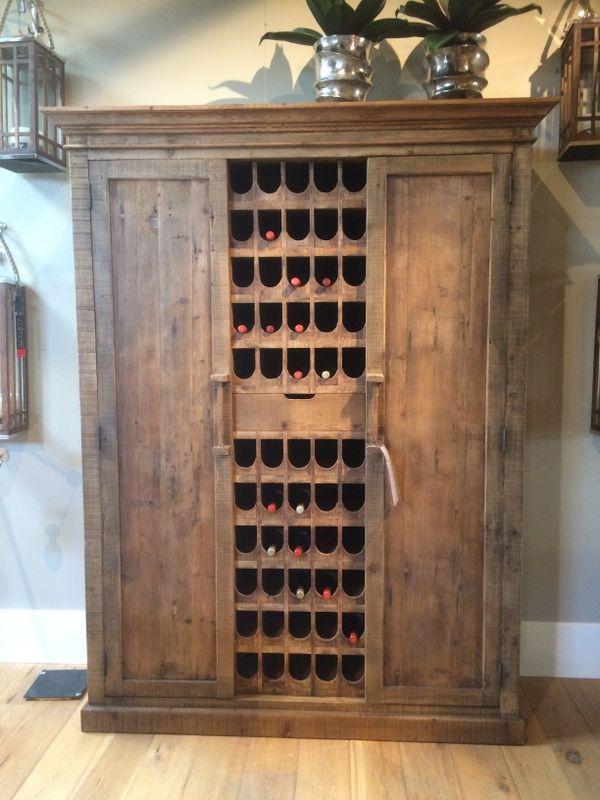 Weinschrank aus Massivholz. | Möbel / Design | Pinterest