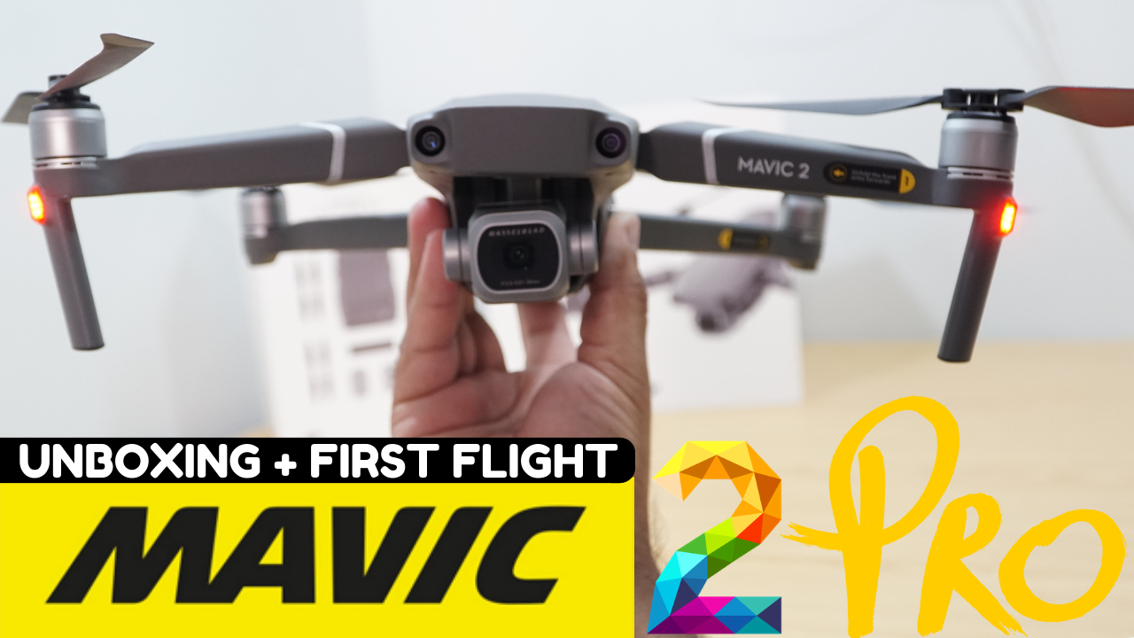 Here's unboxing of Mavic 2 Pro & Fly More Kit plus Setup for