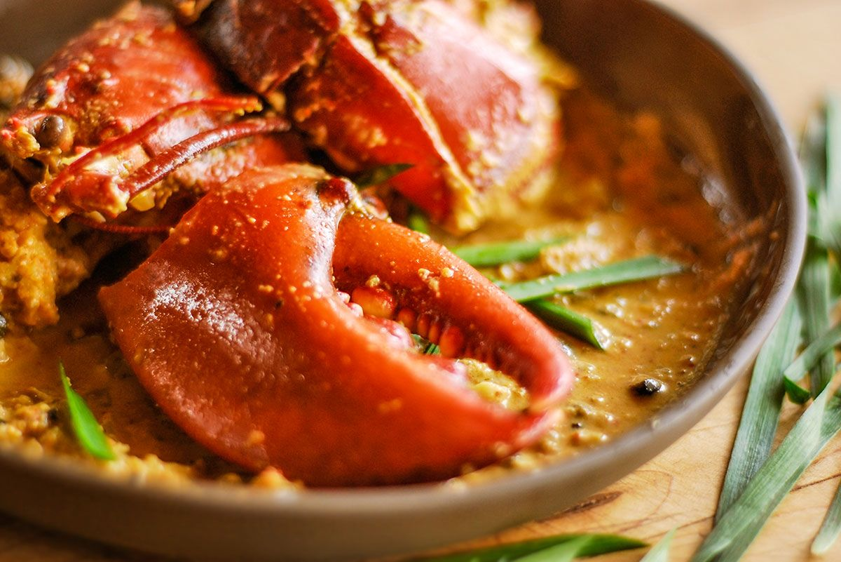 Cette recette se fait aussi tr s bien avec du crabe des - Cuisiner homard congele ...