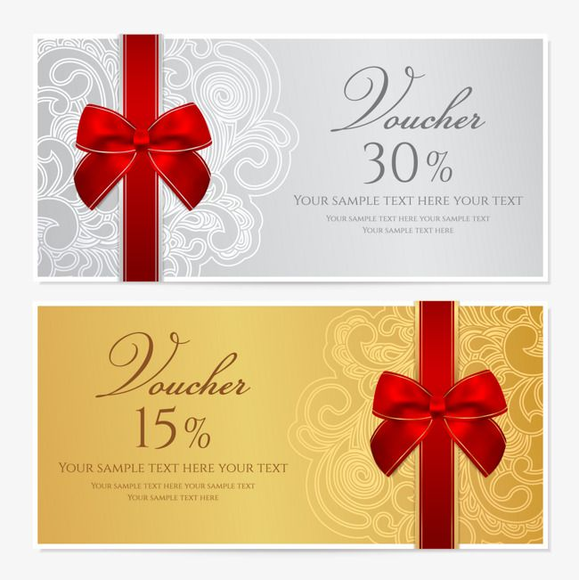 Sample Gift Card Membership Card And Generic Gift Card Design