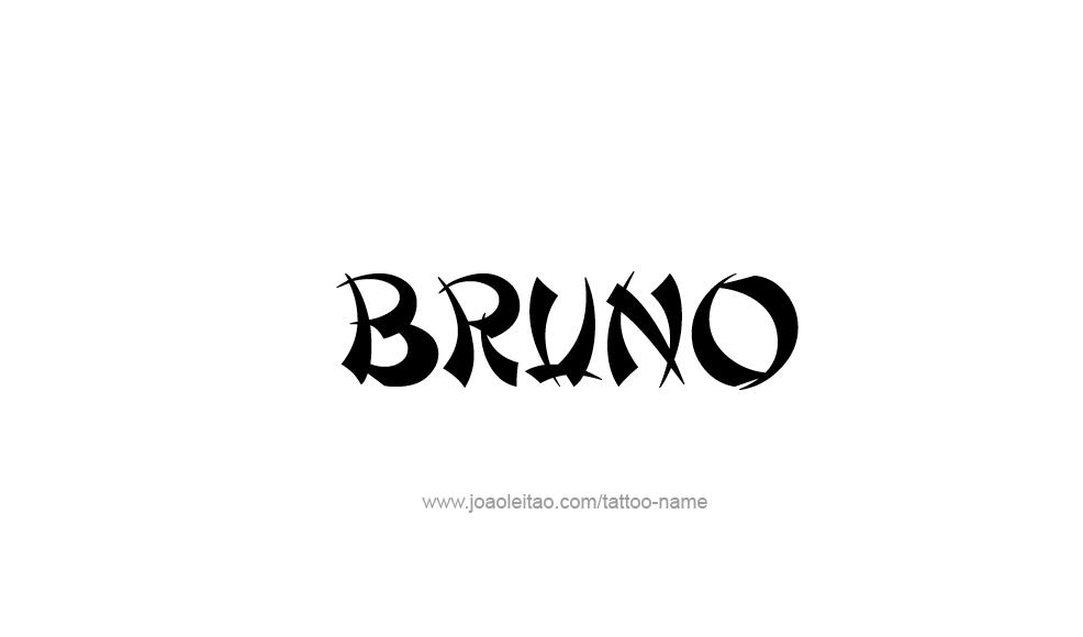 Tattoo Design Name Bruno Name Tattoos Tattoo Designs Bruno Mars Songs