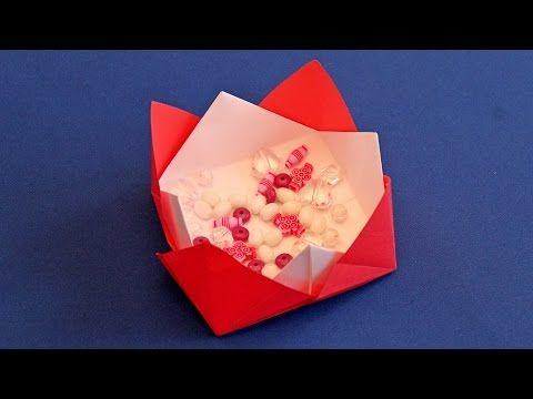 Simple Origami Vase Tutorial Instructions