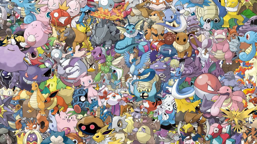 Cool Pokemon Backgrounds Hd All Kanto Pokemon Hd Wallpaper -1474