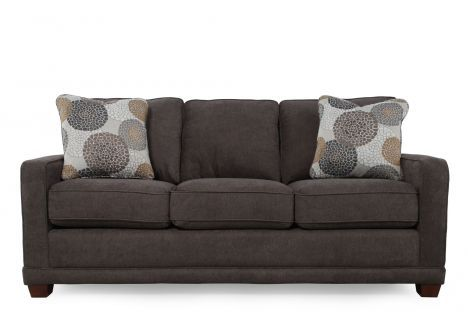 Lzb 61 593 D107554 La Z Boy Kennedy Granite Sofa Mathis