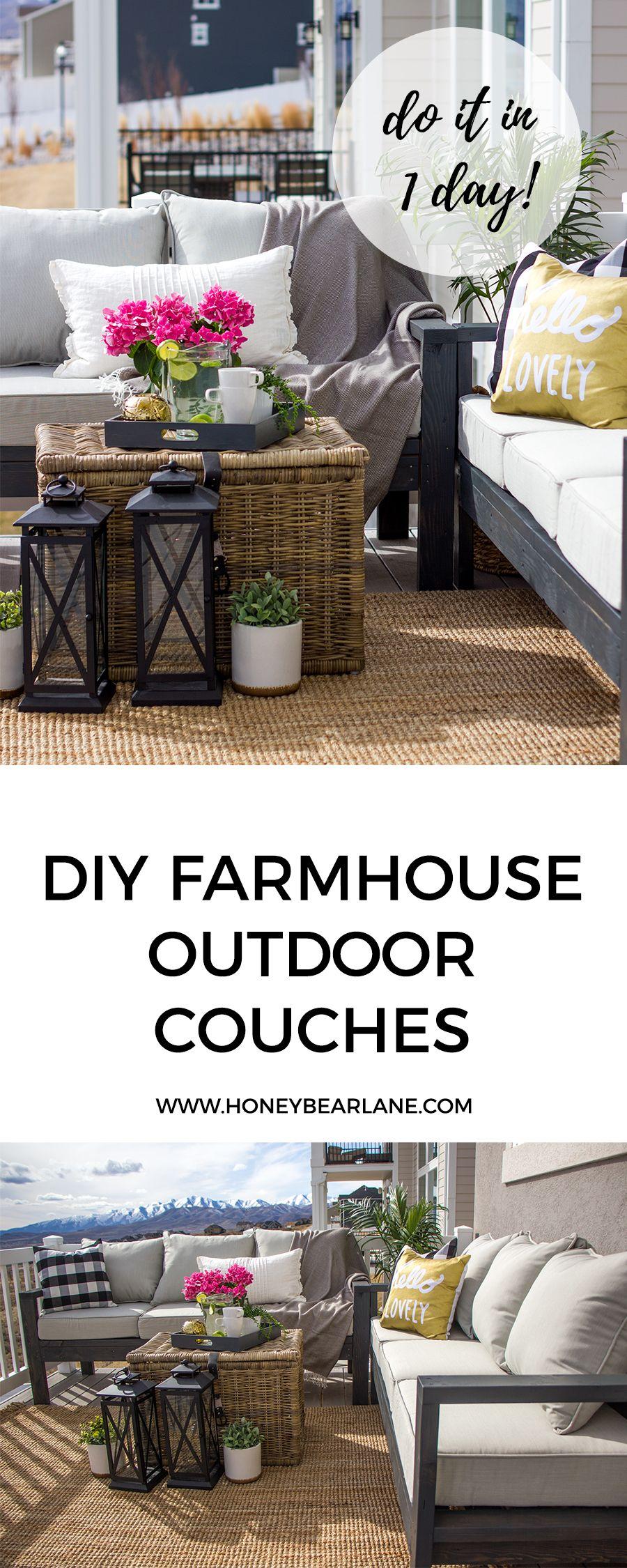 Diy Outdoor Furniture Farm House Diy Outdoor Furniture