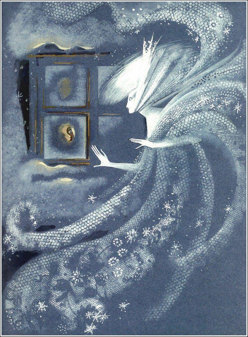 Сюжет из сказки снежная королева картинки