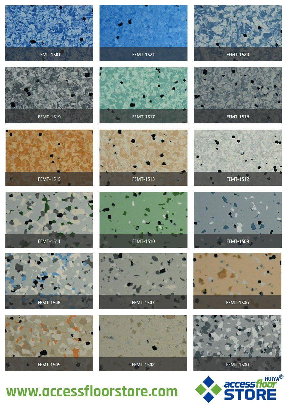 esd homogeneous vinyl sheet flooring