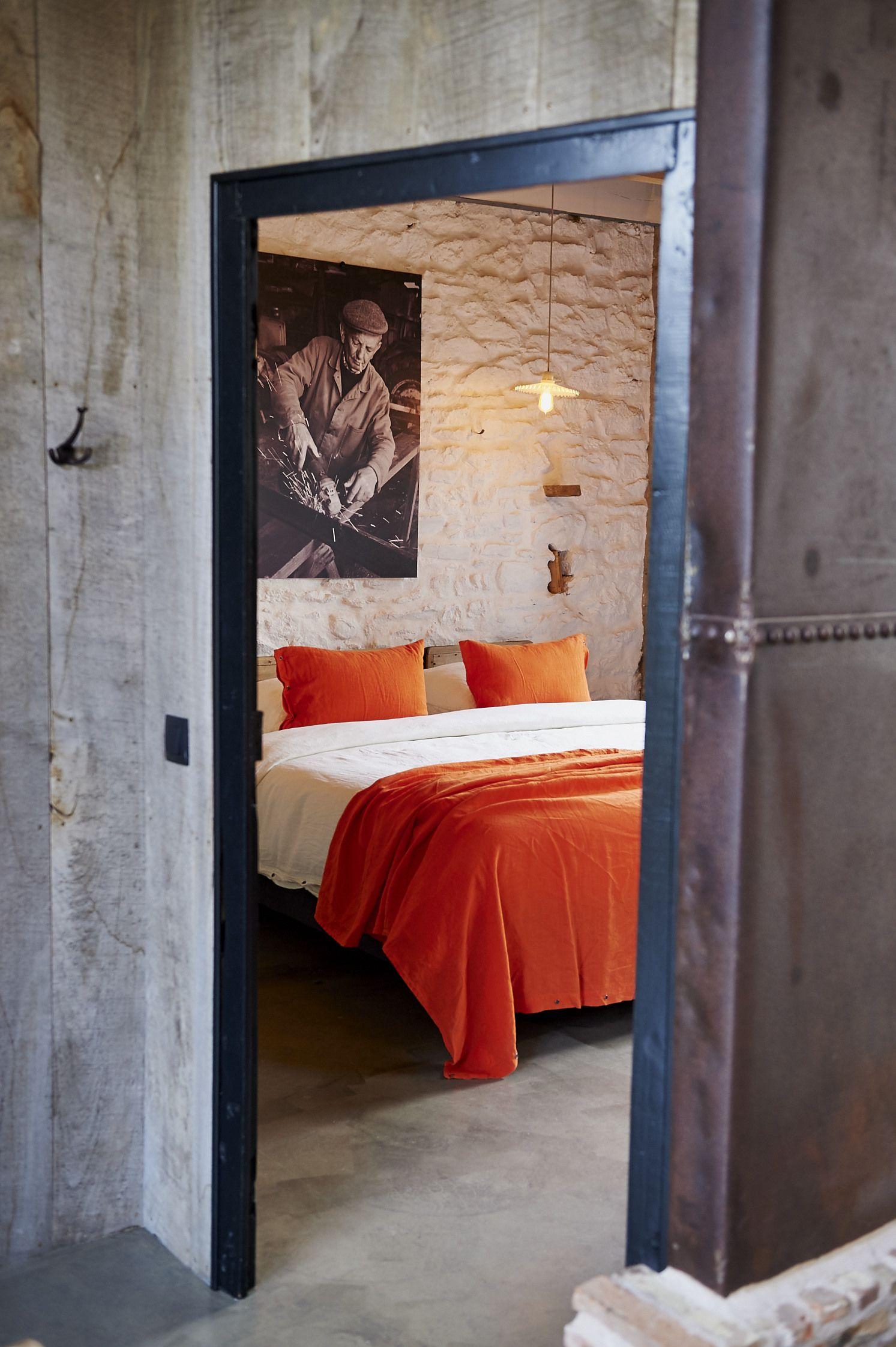 La chambre parentale La Grange d Isidore G te et chambre d h´te
