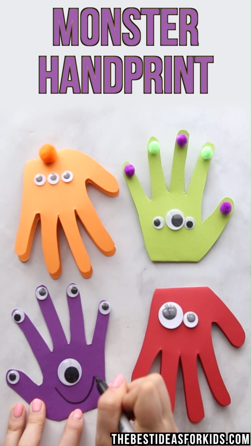 Photo of Monster Handprint Craft – The Best Ideas for Kids