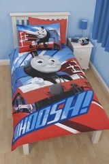 THOMAS & FRIENDS ~ 'Wheesh' Single Bed Reversible Panel Quilt Set ... : thomas single bed quilt cover - Adamdwight.com