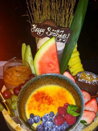 Birthday dessert surprise at Baoli..