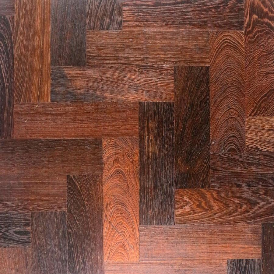 Reclaimed Panga Panga parquet flooring for sale on