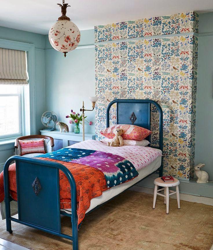 Eclectic Bohemian Kids Room