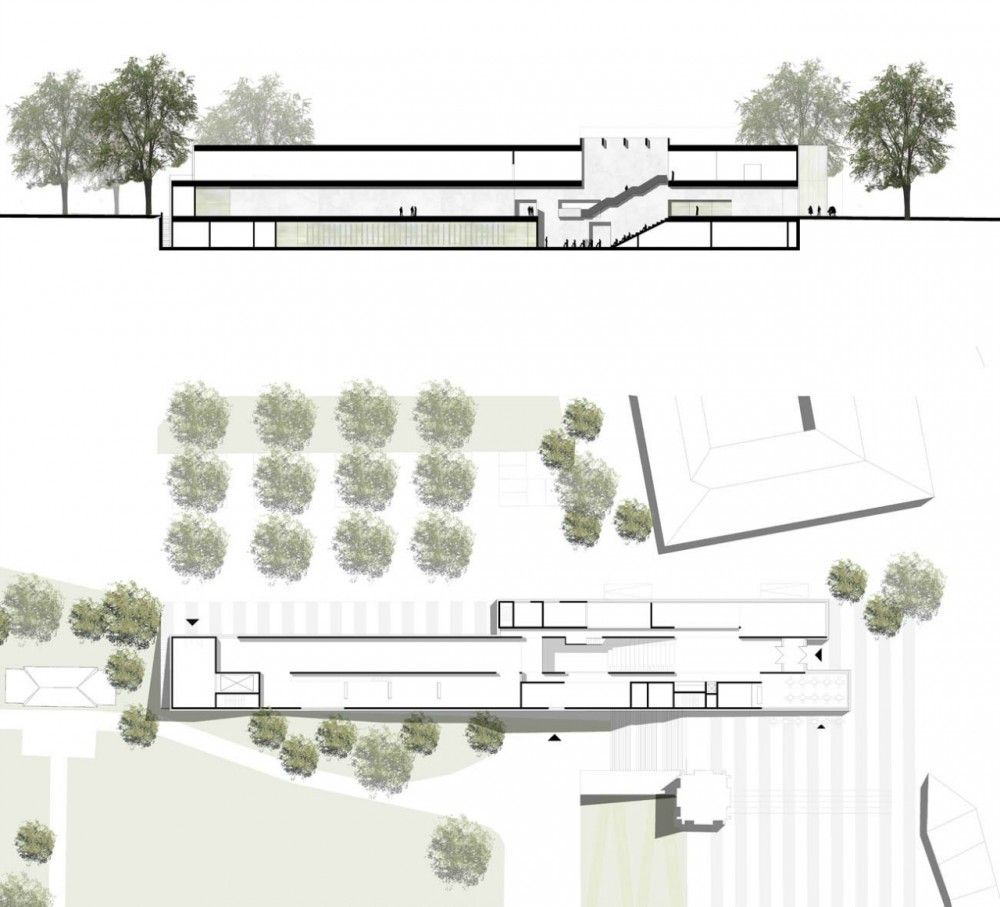 gallery of new bauhaus museum architekten hrk 3. Black Bedroom Furniture Sets. Home Design Ideas
