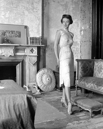 """Dorian Leigh, Photo by Nina Leen, November 1946"" by Sophia | Posted on 3 November 2011"